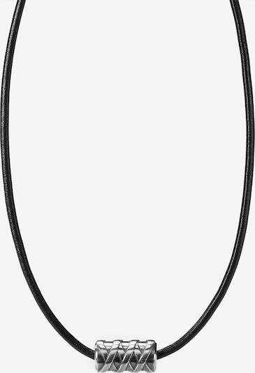 caï Kette in schwarz / silber, Produktansicht