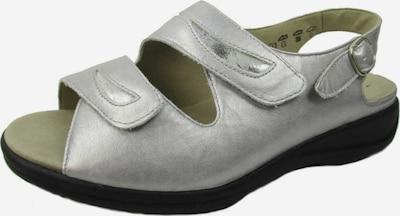 SOLIDUS Sandalette in silber, Produktansicht