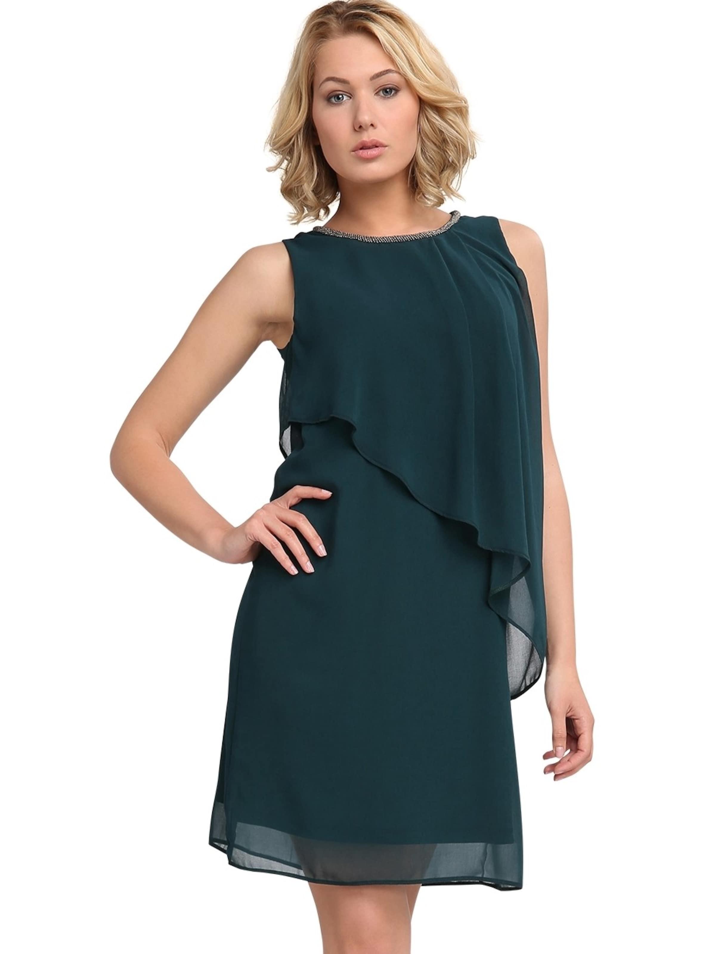 Neue Stile Verkauf Online APART Chiffonkleid asymmetrisch mit bestickten Ausschnitt Auslass Bilder LvxF8