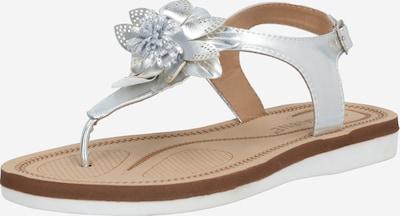 ZABAIONE Sandale 'Angela' in silber, Produktansicht
