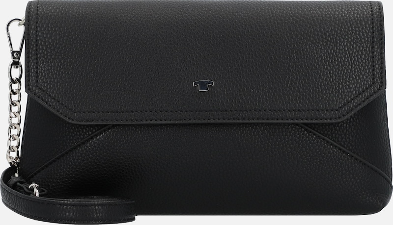 TOM TAILOR Clutch 'Vittoria' in schwarz, Produktansicht