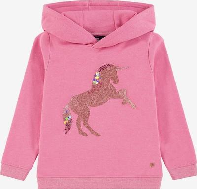 TOM TAILOR Sweatshirt in pink: Frontalansicht