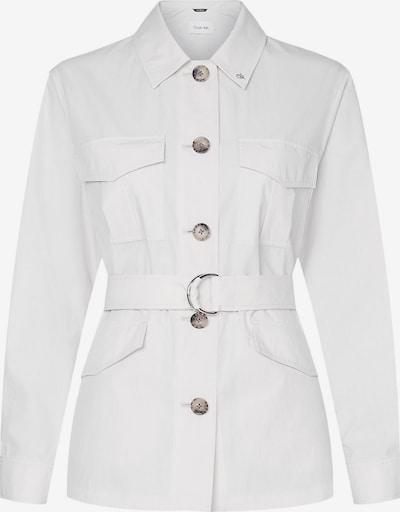 Calvin Klein Tussenjas in de kleur Bruin / Wit, Productweergave