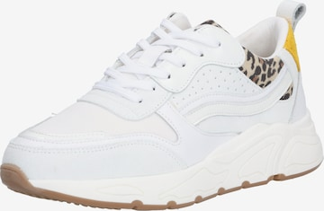 PS Poelman Sneakers '5614' in White