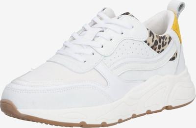 PS Poelman Sneaker '5614' in beige / braun / orange / schwarz / weiß, Produktansicht