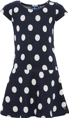 TOM TAILOR Kleid mit Polka-Dots '1/2 crew-neck'