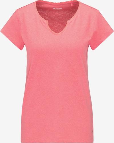 MUSTANG T-Shirt ' T-Shirt ' in pink, Produktansicht