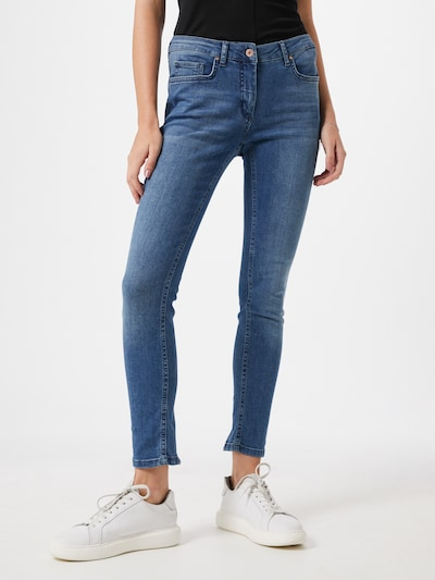 SOAKED IN LUXURY Jeans 'Callas' in blue denim: Frontalansicht