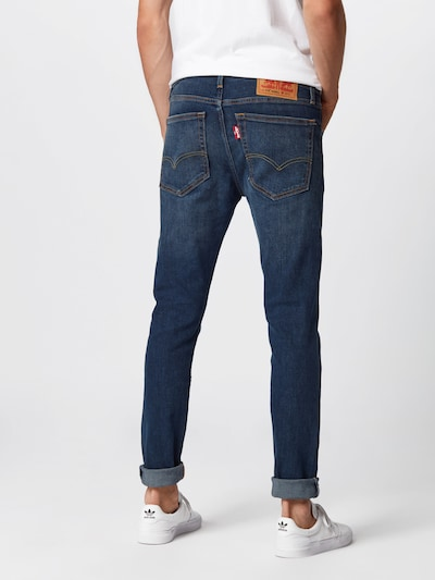 LEVI'S Jeans in blue denim: Rückansicht
