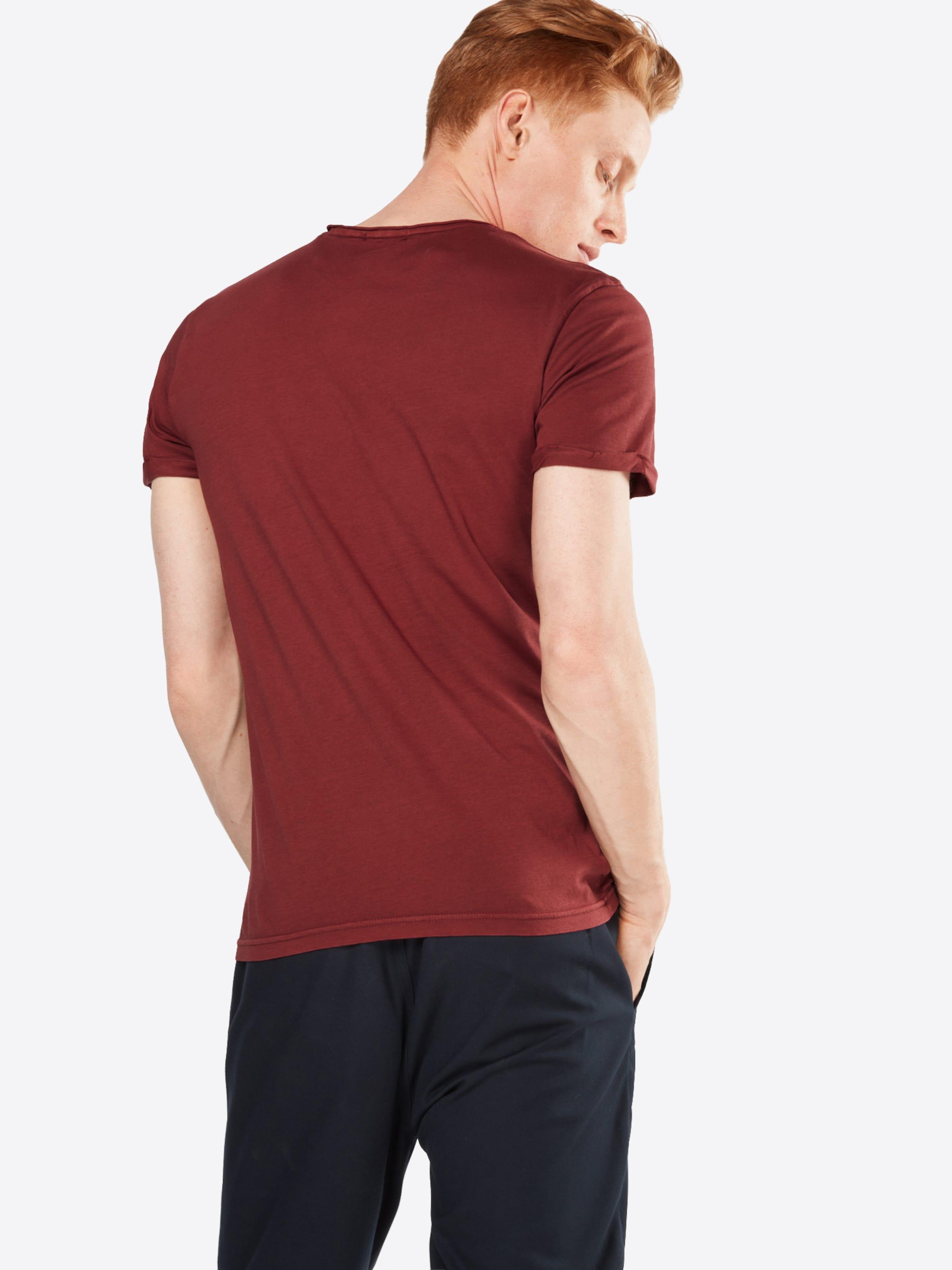 T Tom Tailor En Rouille Rouge shirt QCBWoerdx