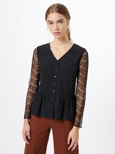 Camicia da donna 'Silva' ABOUT YOU di colore nero: Vista frontale