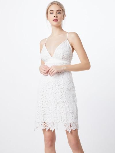 VILA Kleid in weiß: Frontalansicht