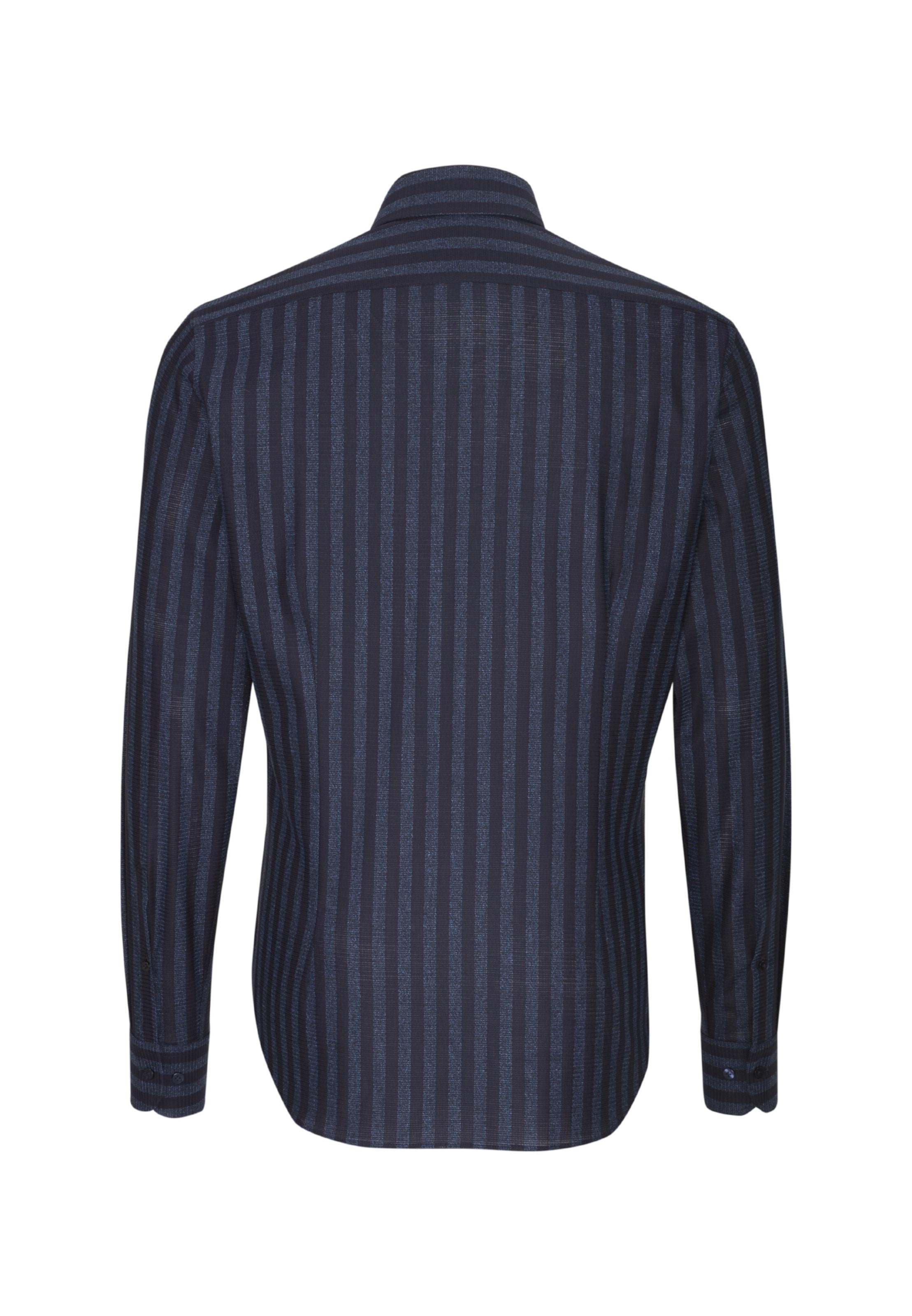 Jacques Casual NachtblauBlue Smart Hemd Denim In Britt TF1ulJ3cK