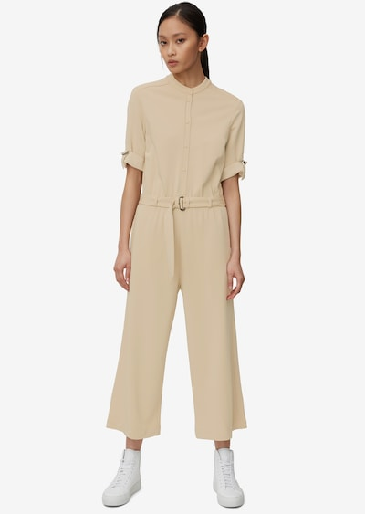Marc O'Polo Pure Overall in beige, Modelansicht