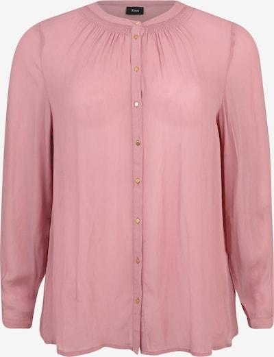 Zizzi Bluza 'Mpolly' | rosé barva: Frontalni pogled