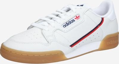 ADIDAS ORIGINALS Sneakers laag 'CONTINENTAL 80' in de kleur Navy / Rood / Wit, Productweergave
