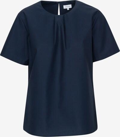 SEIDENSTICKER Shirtbluse ' Schwarze Rose ' in blau: Frontalansicht