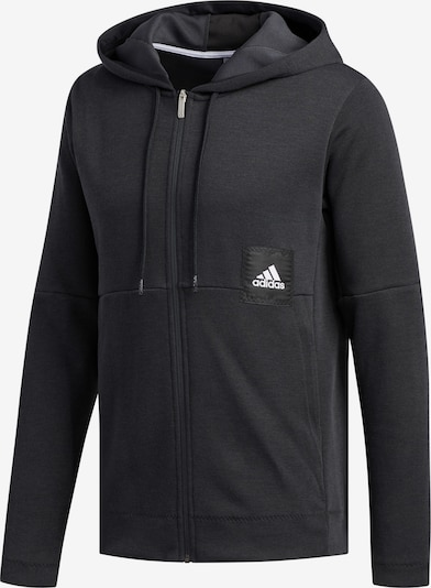 ADIDAS PERFORMANCE Kapuzenjacke 'Cross-Up 365' in schwarz, Produktansicht