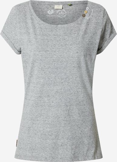 Ragwear T-shirt 'FLORAH' en gris chiné, Vue avec produit