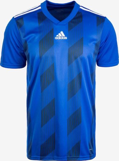 ADIDAS PERFORMANCE Fußballtrikot 'Striped 19' in blau / weiß, Produktansicht
