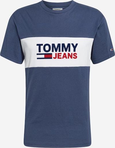 Tommy Jeans T-Shirt en bleu marine / rouge / blanc, Vue avec produit