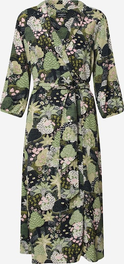 SELECTED FEMME Kleid in grün / offwhite, Produktansicht
