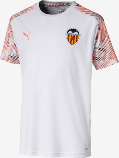 PUMA Trainingstrikot 'Valencia CF' in dunkelgrau / pfirsich / weiß, Produktansicht