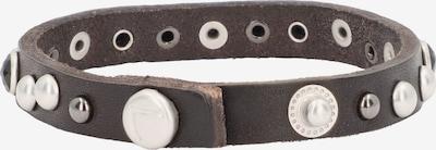 Liebeskind Berlin Armband in de kleur Kastanjebruin / Wit, Productweergave