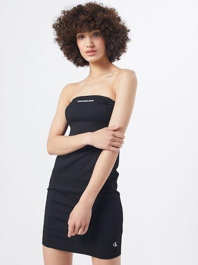 Calvin Klein Jeans Kleid 'Institutional' in schwarz, Modelansicht