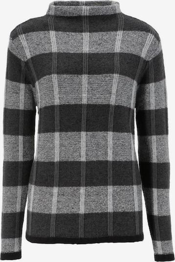 Aniston SELECTED Pullover in anthrazit / hellgrau / schwarzmeliert, Produktansicht