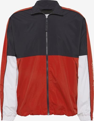 Carhartt WIP Tussenjas 'Terrace' in de kleur Navy / Rood / Wit, Productweergave