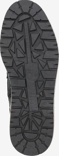 Auliniai batai su raišteliais iš TOM TAILOR , spalva - juoda: Vaizdas iš apačios