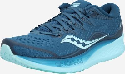 saucony Chaussure de course 'RIDE ISO 2' en bleu, Vue avec produit