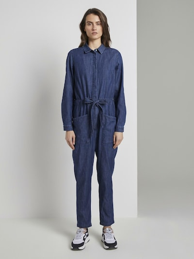 TOM TAILOR Jumpsuit in blue denim, Modelansicht