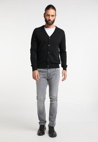 RAIDO Vestes en maille en noir, Vue avec produit