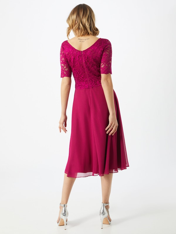 Vera Mont Kleid in beere / rot   ABOUT YOU