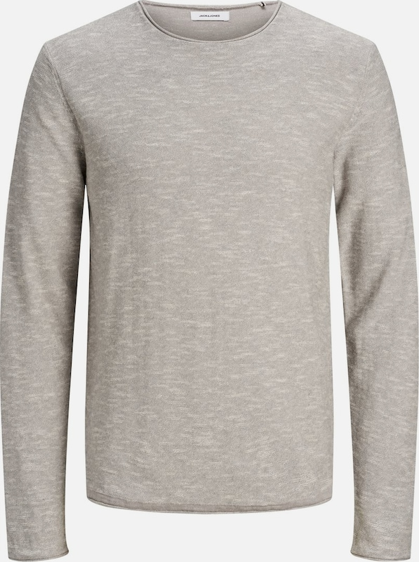 JACK & JONES Pullover in grau, Produktansicht