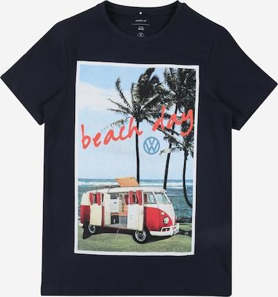 NAME IT T-Shirt in dunkelblau / mischfarben, Produktansicht