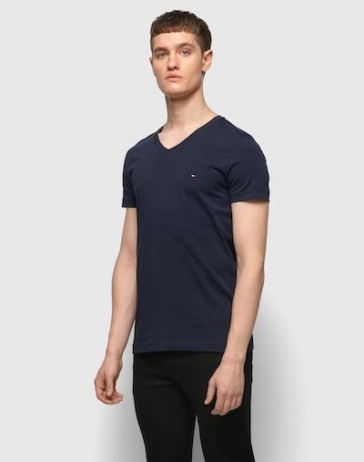 TOMMY HILFIGER T-Shirt in nachtblau: Frontalansicht