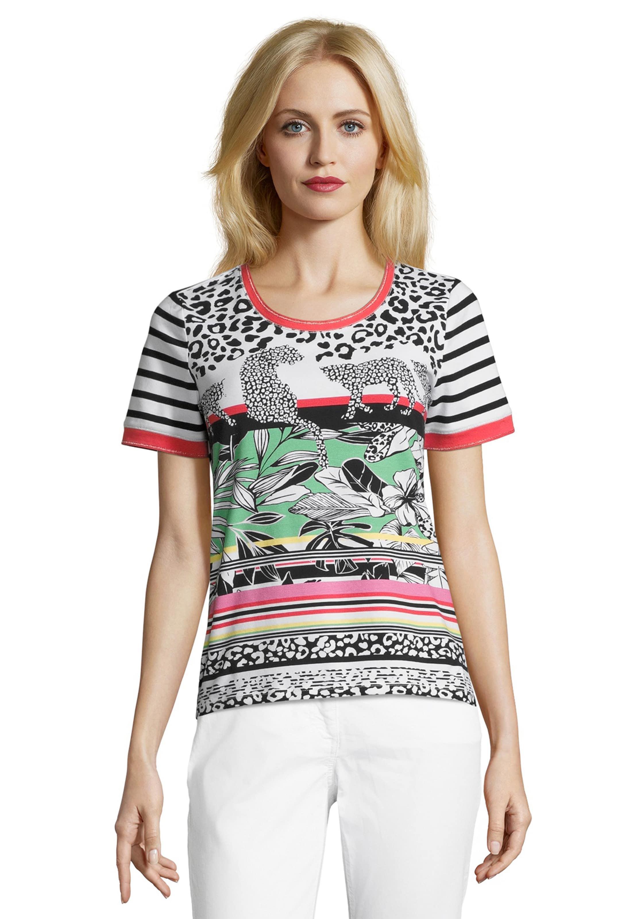 Weiß Barclay Betty MischfarbenSchwarz In Shirt 4LA5jR