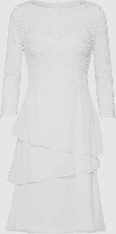 SWING Kleid 'Cocktailkleid mit Spitzenoberteil' in weiß weiß weiß  Neu in diesem Quartal 8270e8