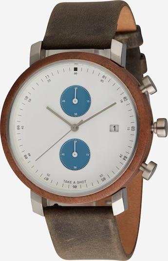 TAKE A SHOT Analogové hodinky 'Humphrey' - hnědá, Produkt