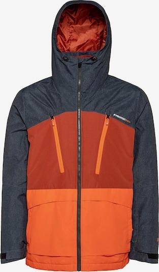 PROTEST Jacke 'Buston' in marine / orange / rot, Produktansicht