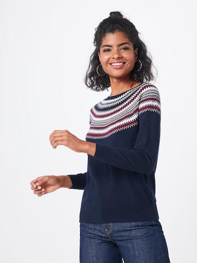 ESPRIT Pulover | mornarska / mešane barve barva, Prikaz modela