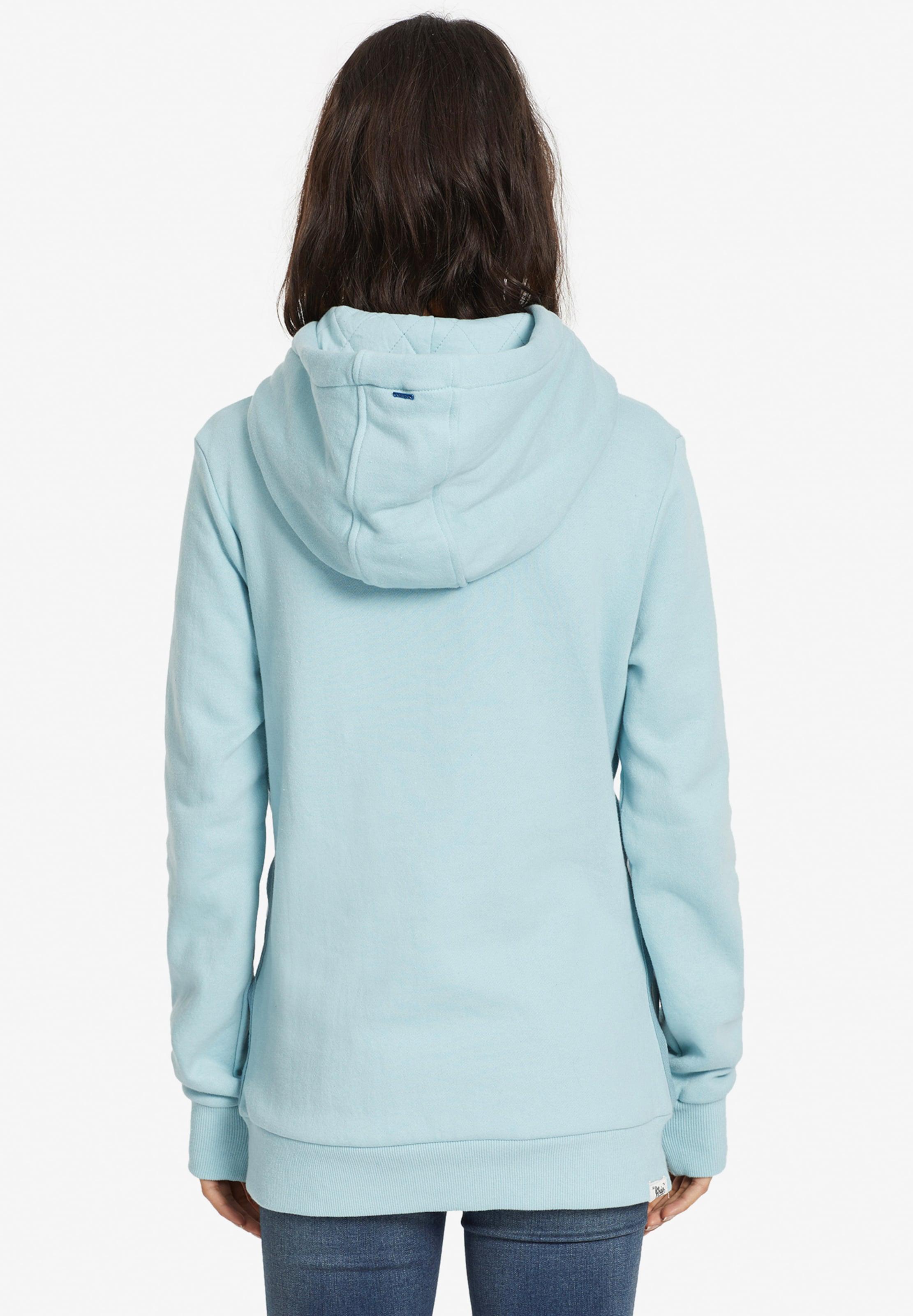 'ulyssa' In Sweatshirt Weiß Khujo HellblauBraun y7Yb6fg