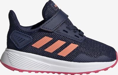 ADIDAS PERFORMANCE Sportschuh 'Duramo 9' in dunkelblau / pink / altrosa / weiß, Produktansicht