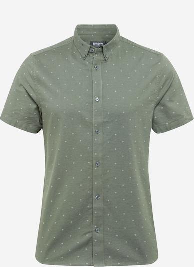 BURTON MENSWEAR LONDON Shirt in grün / weiß, Produktansicht