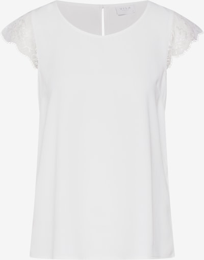 VILA Blouse 'VIOLLI S/S TOP' in de kleur Wit, Productweergave