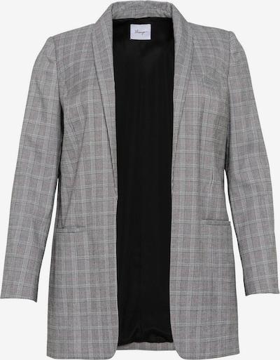 SHEEGO Blazer in grau / weiß, Produktansicht
