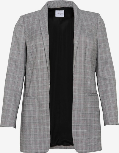 SHEEGO Blazer en gris / blanc, Vue avec produit